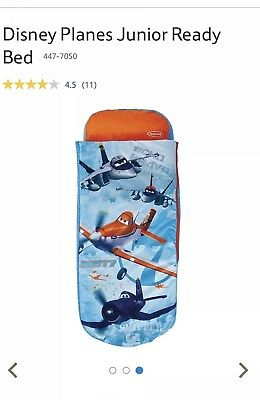 Disney Planes Dusty Junior Ready Bed Airbed and Sleeping Bag in One