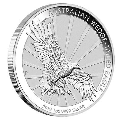 1 oz Silber Wedge Tailed Eagle 2018 - 1 Dollar Australien - in Münzkapsel