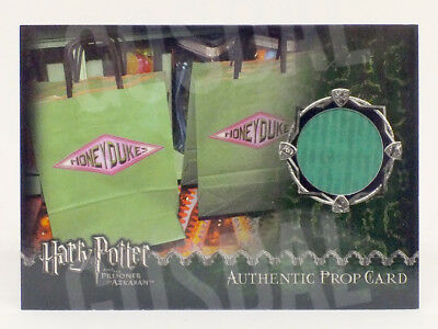 Harry Potter and the Prisoner of Azkaban Honeydukes Bag Prop Card HP #085/434