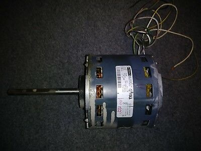 Blower Motor Fasco Type U26B1 1/2 HP 115 VAC 1 PH 1075 RPM Frame 48 Shaft 1/2""