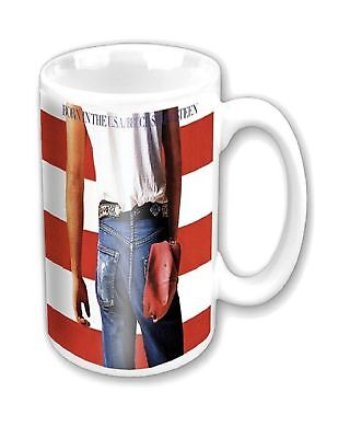 Bruce Springsteen Mug Born in the USA new official white Boxed
