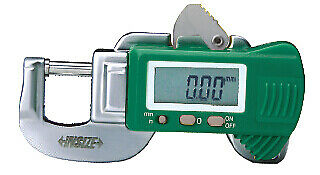 "Insize Electronic Digital Snap Gauge, 0-.5""/0-12mm (2166-12)"