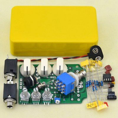 OVERDRIVE DIY GUITAR Pedal Kit with1590B Box and ICTL082CP OD1 Pedal