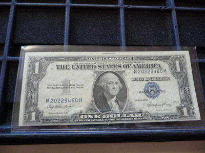 1935-E One Dollar Silver Certificate N20229460H In Circulated Condition I-24-18