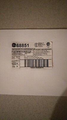 New Ge Fluorescent Light Bulbs (1) Case Box Of 36 F32T8/spx35/ecoc2 68851