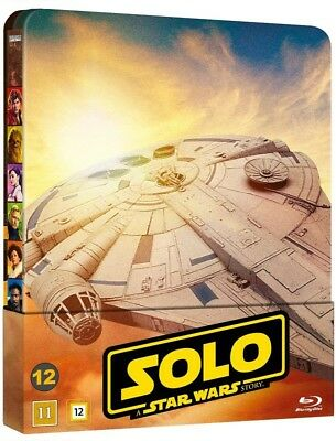 Solo: A Star Wars Story Limited Edition Steelbook 2-Disc Blu Ray