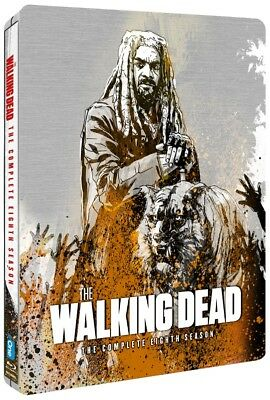 The Walking Dead Season 8 Steelbook 6-Disc Blu Ray (Region B locked)