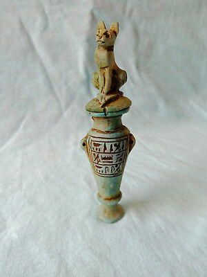 Bast Egyptian Antiques Cat Goddess The Milling of queen Cleopatra