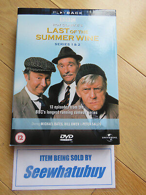 Last of the Summer Wine: The Complete Series 1 and 2 (Box Set) [DVD]