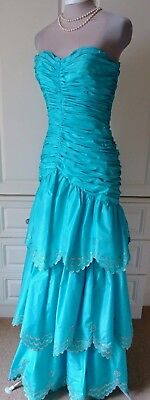 MURRAY ARBEID 1980's VINTAGE EVENING GOWN SIZE UK 8/10