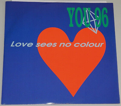 """12"""" It**you 96 - Love Sees No Colour / Be With Me (Discomagic Records '93)*10705"""