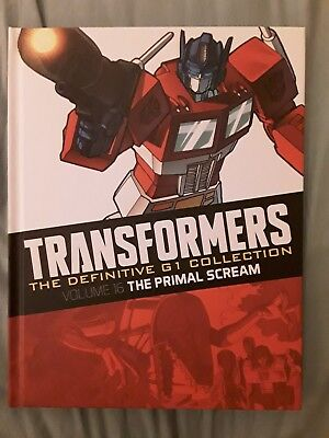 TRANSFORMERS G1 Collection VOL 16 The Primal Scream