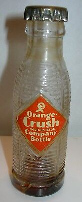 Vintage Miniature Orange Crush Soda Pop Bottle Bills