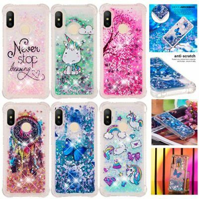 For Xiaomi Redmi 6A/S2/A2 Lite glitter shockproof phone case unicorn glitter