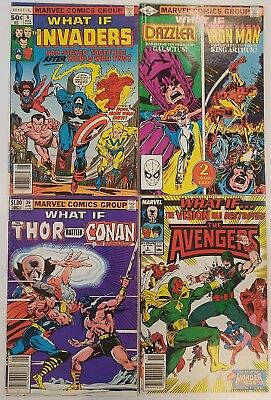 22 Marvel Comics - WHAT IF - Avengers - X-Men- Spider-man - Ironman - Wow