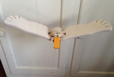 Flying Pelican Wooden Mobile Toy