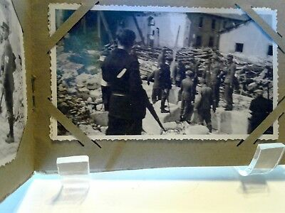 8 Antique WWII B&W FRENCH PHOTOs  La Liberation 1944-45 Civilians Soldiers