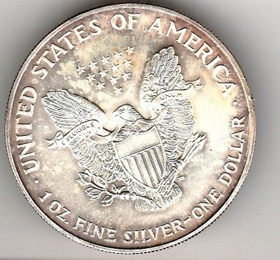 1995 SILVER DOLLAR from UNITED STATES OF AMERICA in case