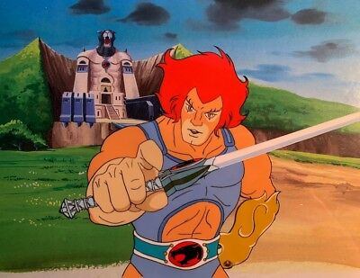 Thundercats Lion-O Original Production Animation Cel  Sword Of Omens & Gauntlet