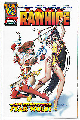 Lady Rawhide #1/2 (1996, Wizard Press/Topps Comics) Available By Coupon Offer
