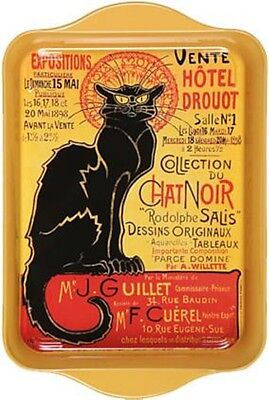 """Tray - """"Chat Noir"""" Design - Famous French Advertisement in Multi-purpose tray"""