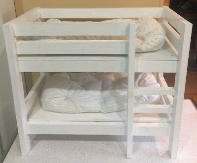 Triple Bunk Bed With Trundle For Up To 18 In Dolls Custom Made