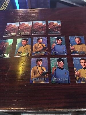 dave and buster star trek cards