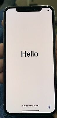 Apple iPhone X - 256GB - Silver AT&T UNLOCKED With Box and Air Charger!