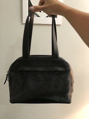 deb132b3ab15 AUTHENTIC PRADA VINTAGE Style Shoulder bag Leather/Wool - $150.00 ...