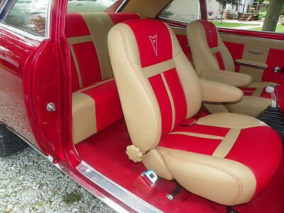 Chevy Camaro Ss 67 69 Bucket Front Seats Rear Bench Seat