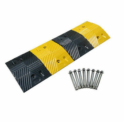 60T Rubber Speed Hump Bump Modular Speed Humps 1000mm long Road Hump with Bolts