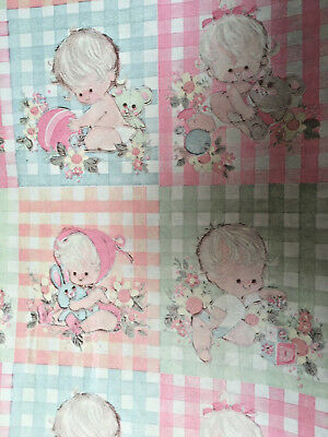 Gift Wrap Paper 3 Pkgs Baby Shower Boy Girl Unisex Pink Blue