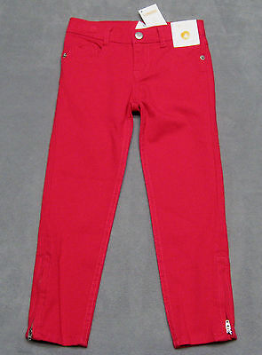 Girls size 4 Gymboree Red Pants Jeans Zipper Legs Christmas RV $33 NEW