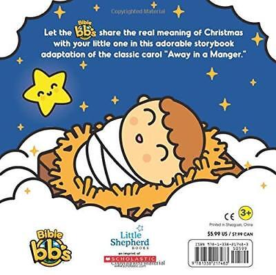 Away in a Manger (Bible bb's) by Scholastic New Hardback Book