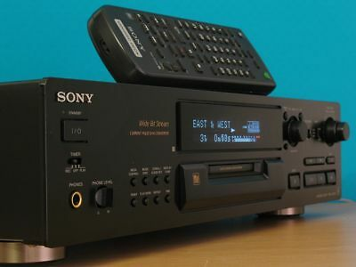 Sony MDS-JB920 MD QS *Black* + Remote  *BRAND NEW LASER DIODE & ASSEMBLY FITTED*
