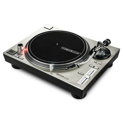 Reloop RP-7000 MK II Silver Professional Direct Drive Club DJ Turntable