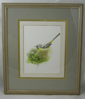Grey Wagtail - signed original artwork - Helen Irving