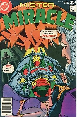 Mister Miracle # 21 VF/NM 9.0