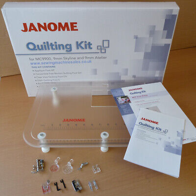 JQ7 Janome Quilting Kit with Extension Table