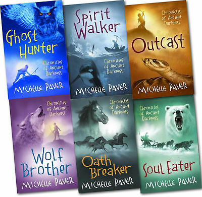 Chronicles of Ancient Darkness Michelle Paver 6 Book Collection, Ghost Hunter,