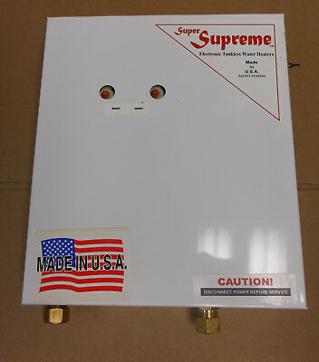 Supreme Tankless Water Heater 12 Kw I-220