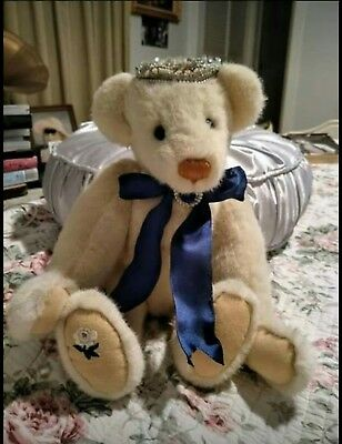 Princess Diana Bear. England's Rose. Danbury mint.