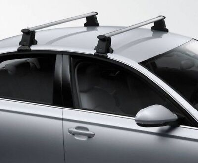 New Genuine Audi A6 C7 Saloon Accessory Roof Bars Set