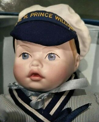 Royal Doulton  Prince William As Toddler Doll.