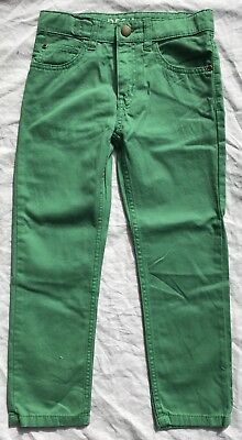 H&M - Green Pants (with adjustable waistband) - Size 7 - NEW