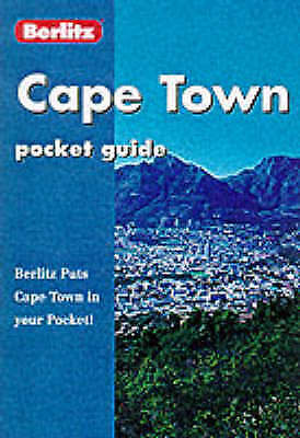 """AS NEW"" Cape Town (Berlitz Pocket Guides), Berlitz Guides, Book"