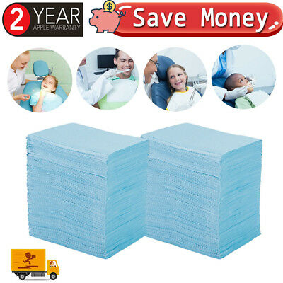 500pc Disposable Dental Senior Care Tattoo Hospital Absorbent Towel Tissue Paper