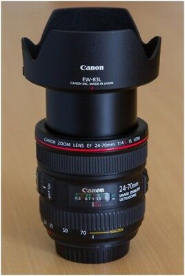 Canon EF 24-70mm f/4 L IS USM Lens. Great Condition!