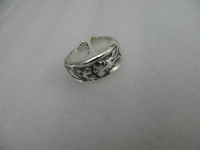 Sterling Silver spoon RING s 7 RABBIT Jewelry # 6342