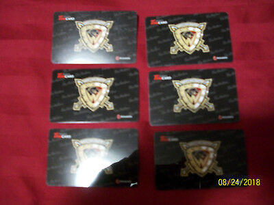 2015 WEST KELOWNA WARRIORS Tim Horton collector gift cards (6-Pack)